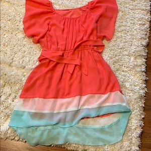 Other - Girls Colorful High-Lo Dress-S